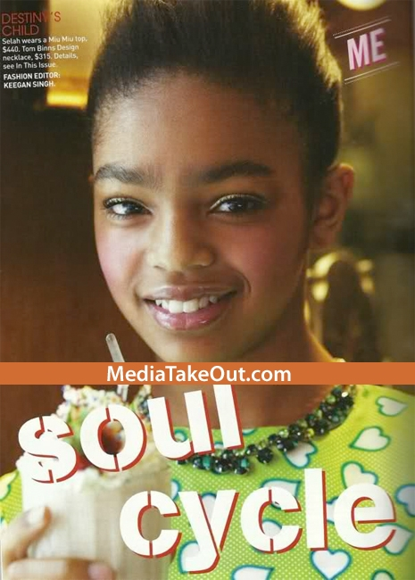 LAURYN HILL'S 12 YEAR OLD DAUGHTER IS FEATURED IN TEEN VOGUE ...